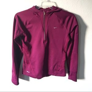 Nike DryFit pullover with hood